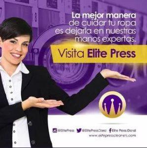 Elite Press Dry Cleaners Doral Miami. Visita Elite Press